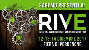 Agm all'Expo RIVE dal 12 al 14 Dicembre 2017